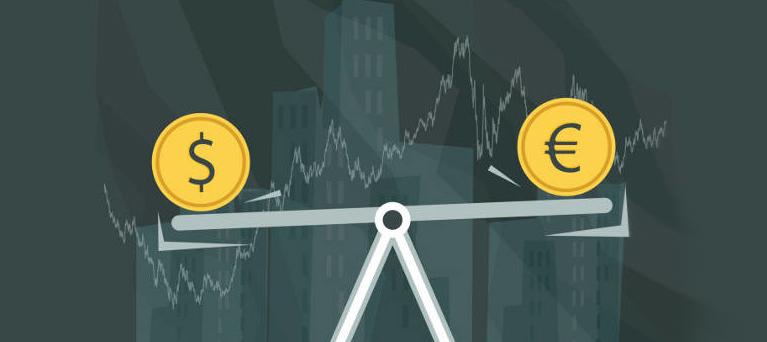 seguire l' andamento del dollaro usa rispetto all'euro