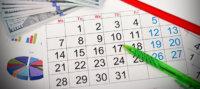 Calendario penna soldi